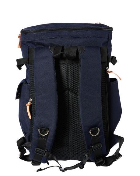 NAVY MENS ACCESSORIES HARVEST LABEL BAGS + BACKPACKS - HLO-0660-NVY