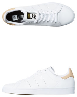 WHITE NUDE GOLD MENS FOOTWEAR ADIDAS ORIGINALS SKATE SHOES - SSBB8746WHIW