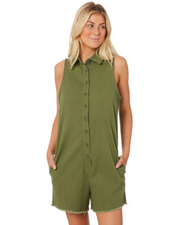 KHAKI OUTLET WOMENS SWELL PLAYSUITS + OVERALLS - S8188452KHA