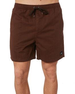 DARK COFFEE MENS CLOTHING RUSTY BOARDSHORTS - WKM0978DCF