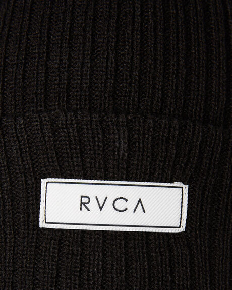 BLACK WOMENS ACCESSORIES RVCA HEADWEAR - R283563BLK