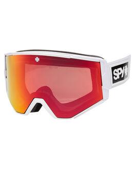 MATTE WHITE BOARDSPORTS SNOW SPY GOGGLES - 310071396869MWHT