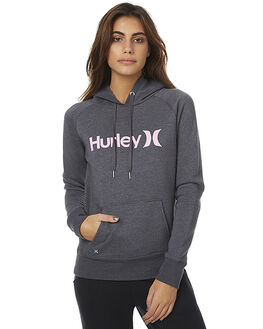 HEATHER GRAPHITE WOMENS CLOTHING HURLEY JUMPERS - AGFL170H07F