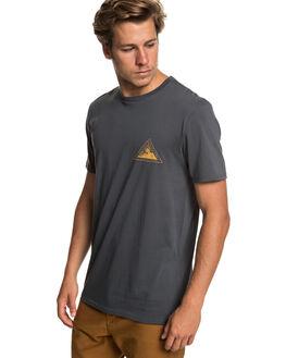 EBONY MENS CLOTHING QUIKSILVER TEES - EQYZT05232-KSD0