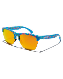 SPLATTER SKY BLUE MENS ACCESSORIES OAKLEY SUNGLASSES - 0OO9374-1463