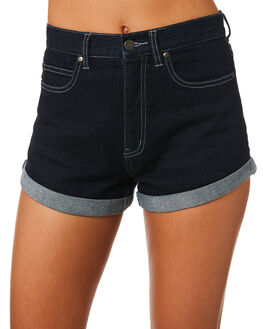 DEEP INDIGO WOMENS CLOTHING AFENDS SHORTS - W184302DIND