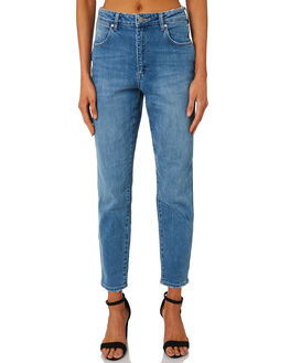LOVESICK BLUE WOMENS CLOTHING WRANGLER JEANS - W-951338-KU0