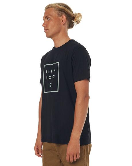 BLACK MENS CLOTHING BILLABONG TEES - 9572049BLK