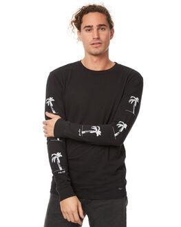 BLACK MENS CLOTHING BILLABONG TEES - 9575191BLK