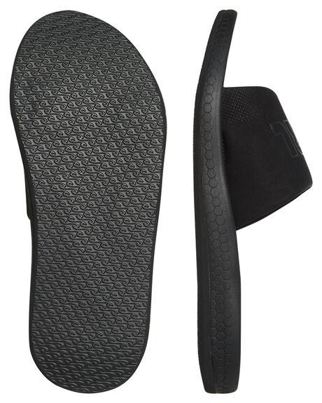 BLACK MENS FOOTWEAR RIP CURL SLIDES - TCTA310090
