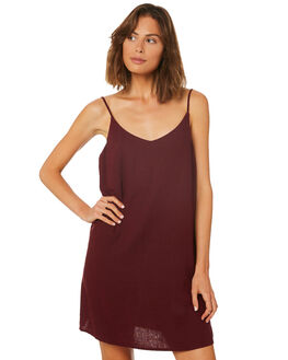 RUBY WINE WOMENS CLOTHING BILLABONG DRESSES - 6572476RW2