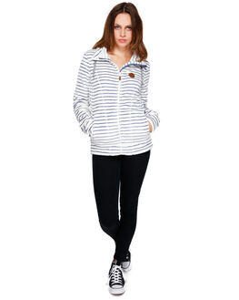 EGRET_TEDDY STRIPES BOARDSPORTS SNOW ROXY WOMENS - ERJFT03739WBS2