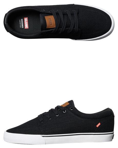 BLACK HEMP MENS FOOTWEAR GLOBE SKATE SHOES - GBGS-20004