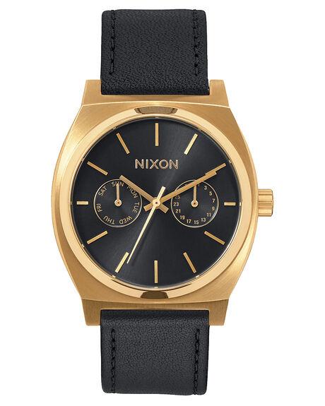 GOLD BLACK SUNRAY MENS ACCESSORIES NIXON WATCHES - A9271604