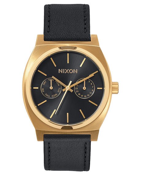 GOLD BLACK SUNRAY MENS ACCESSORIES NIXON WATCHES - A9271604