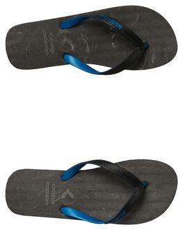 CHAR BLUE MENS FOOTWEAR KUSTOM THONGS - 4984233CBLU