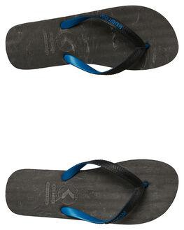 CHAR BLUE MENS FOOTWEAR KUSTOM THONGS - 4984233CBLU