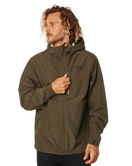 NEW TAUPE GREEN MENS CLOTHING THE NORTH FACE JACKETS - NF0A4AHM21L