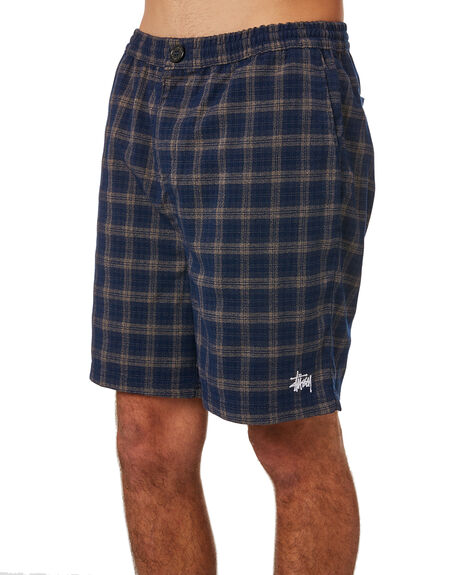 NAVY MENS CLOTHING STUSSY SHORTS - ST083608NVY