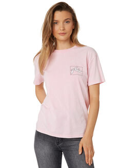 NOTE PINK WOMENS CLOTHING RUSTY TEES - TTL0994NPK