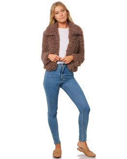 COYOTE WOMENS CLOTHING BILLABONG JACKETS - 6595901CYT