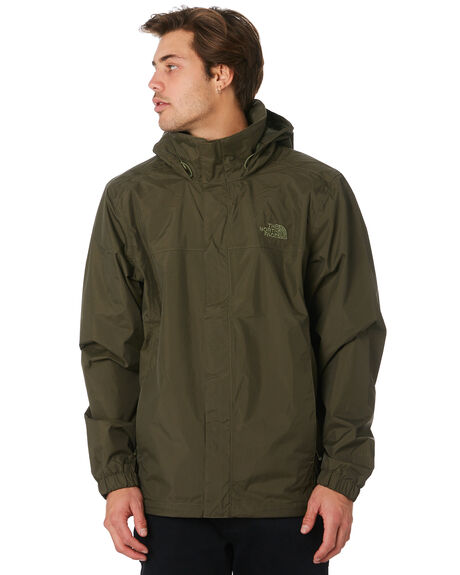 TAUPE GREEN MENS CLOTHING THE NORTH FACE JACKETS - NF0A2VD521L