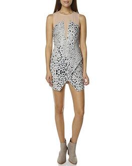 LEOPARD WOMENS CLOTHING STYLESTALKER DRESSES - 3141037LEO