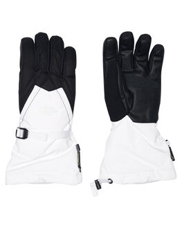 WHITE BLACK BOARDSPORTS SNOW THE NORTH FACE GLOVES - NF0A334CLA9WHBLK