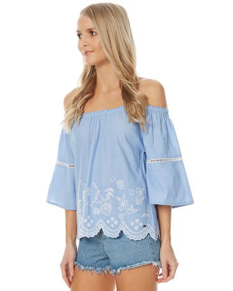 SKY BLUE WOMENS CLOTHING O'NEILL FASHION TOPS - 402280735M