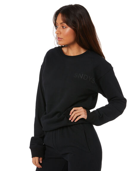 BLACK WOMENS CLOTHING SNDYS JUMPERS - SET119BLK