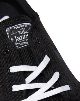 BLACK WHITE WOMENS FOOTWEAR NIKE SNEAKERS - SS615957-022W
