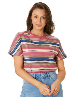 WOODROSE WOMENS CLOTHING RUSTY TEES - TTL1035WDR