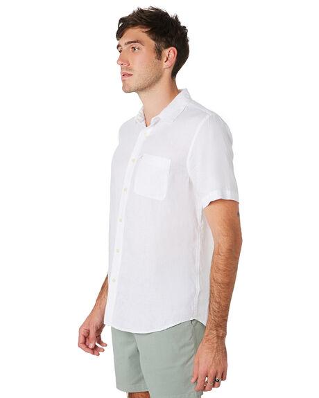 WHITE MENS CLOTHING ACADEMY BRAND SHIRTS - BA880WHT