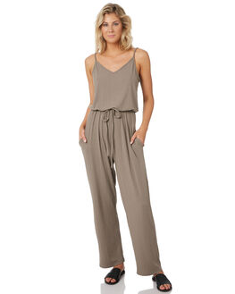 STONE GREY WOMENS CLOTHING RUSTY PLAYSUITS + OVERALLS - MCL0321STONE