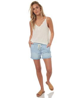 MARSHMELLOW WOMENS CLOTHING ROXY FASHION TOPS - ERJWT03180WBT0