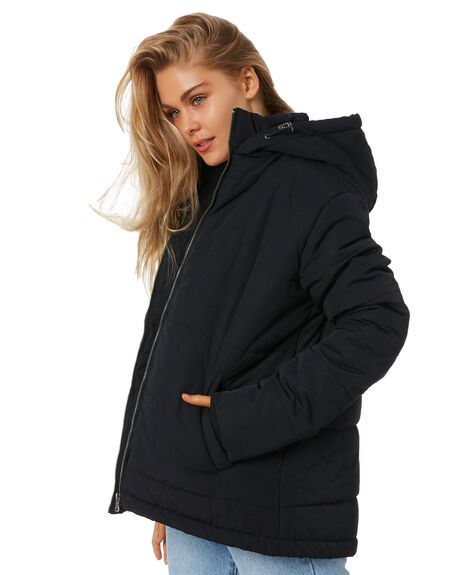 BLACK WOMENS CLOTHING ALL ABOUT EVE JACKETS - 6473025BLK