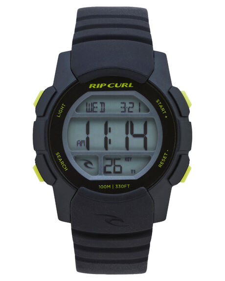 BLACK LIME MENS ACCESSORIES RIP CURL WATCHES - A28691288