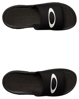 BLACKOUT MENS FOOTWEAR OAKLEY SLIDES - 1503102E
