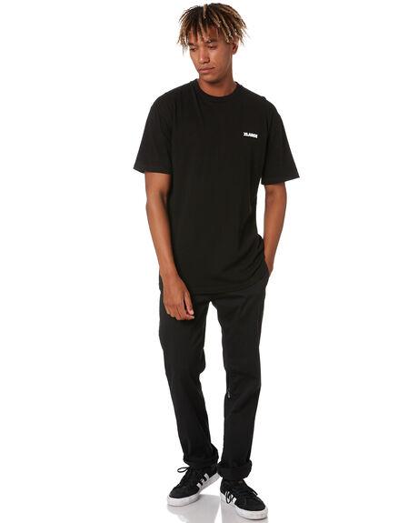 BLACK MENS CLOTHING XLARGE TEES - XL002001BLK