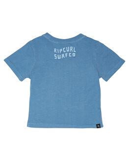 DENIM BLUE KIDS BOYS RIP CURL TOPS - OTEWU34983