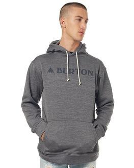DARK GREY MENS CLOTHING BURTON JUMPERS - 1622310201
