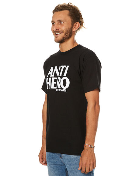 BLACK MENS CLOTHING ANTI HERO TEES - 51020002DBLK