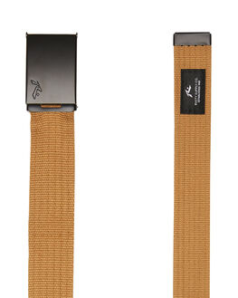 CAMEL BLACK MENS ACCESSORIES RUSTY BELTS - BEM0148CLK