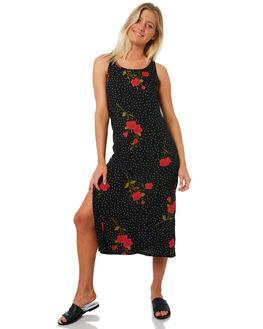 BLACK WOMENS CLOTHING VOLCOM DRESSES - B1331882BLK