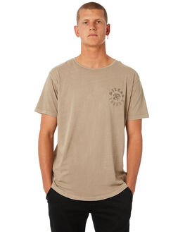 BEIGE MENS CLOTHING SILENT THEORY TEES - 4014006BGE
