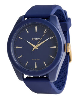 NAVY/ YELLOW GOLD WOMENS ACCESSORIES ROXY WATCHES - ERJWA03026-XBYB