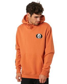 BURNT ORANGE MENS CLOTHING VOLCOM JUMPERS - A4112002BOR