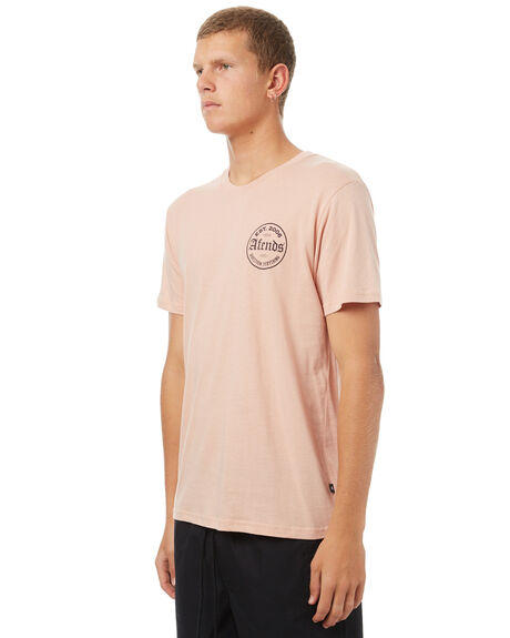 ROGUE PINK MENS CLOTHING AFENDS TEES - 01-01-255RPNK