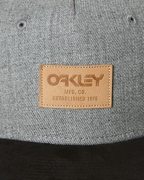 GREY BLACK MENS ACCESSORIES OAKLEY HEADWEAR - 911714AU213