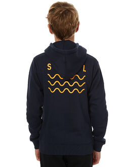 NAVY KIDS BOYS SWELL JUMPERS - S3173442NVY